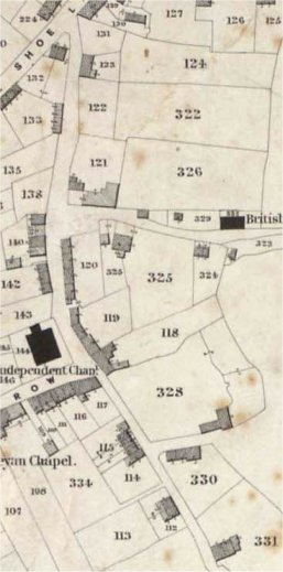 1840 tithe map RS