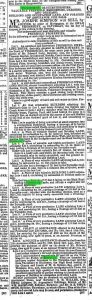 1863 18th July sale of Edward Long property