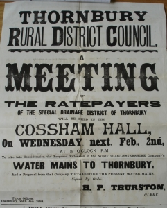 1898 West Glos Water Public notice 1898