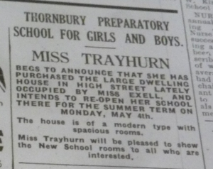 1931 april 25th mabel trayhurn