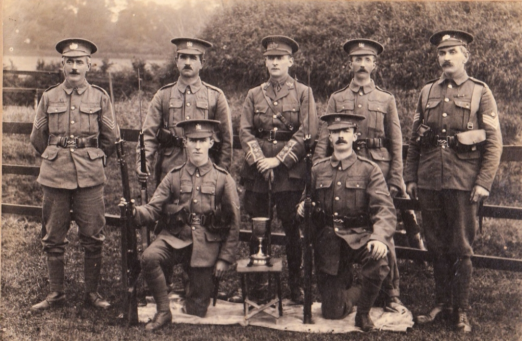 1st vol batt gloucestershire regiment 1918