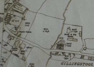 Brickworks map 1921