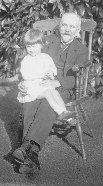 Charles Phelps with unknown child