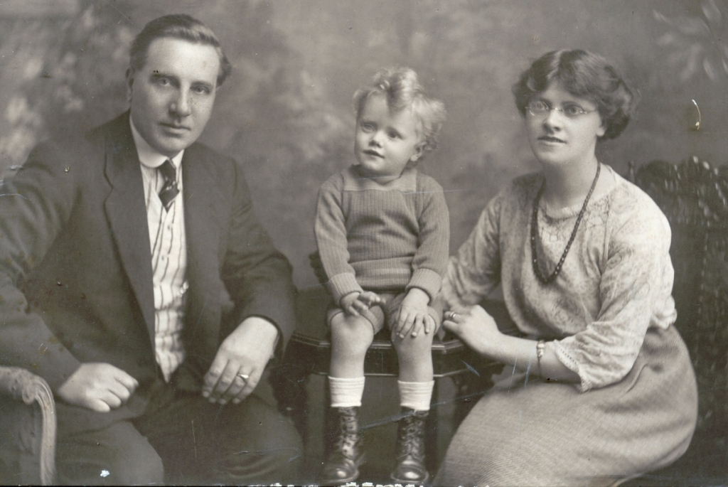 Excell Alfred Edith and little George