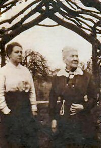 Frances Boulton and her mother Rachel