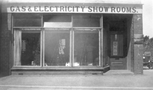 Gas & Electricity showroom