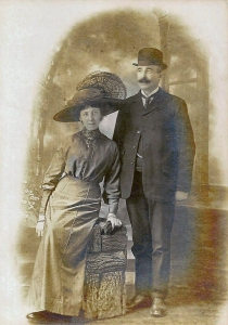 George Bartlett and his wife Ellen nee Symes