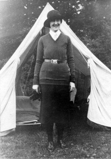 Georgina Jenkinson, Th'by Guide Captain