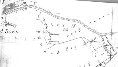 Hazel golf course plan 1928