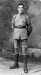 Herbert Worsley WW1