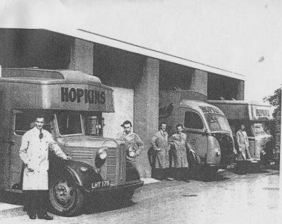 Hopkins mobile lorries
