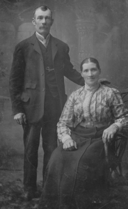 James & Hester Worsley May 1912