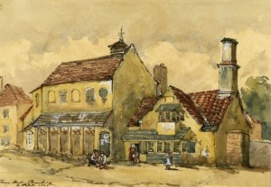 Watercolour painting 1845