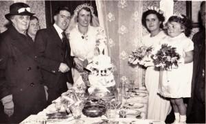 Richard and Mabel's wedding