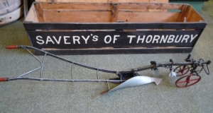 Savery plough model with box