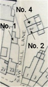 Saw Mill Lane map