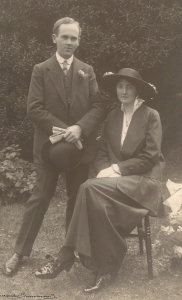 Sidney Gayner and wife
