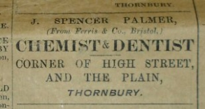Spencer Palmer advert 1900