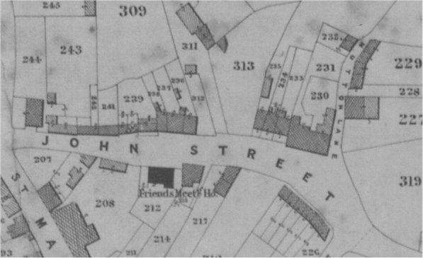 St John Street Tithe map1840