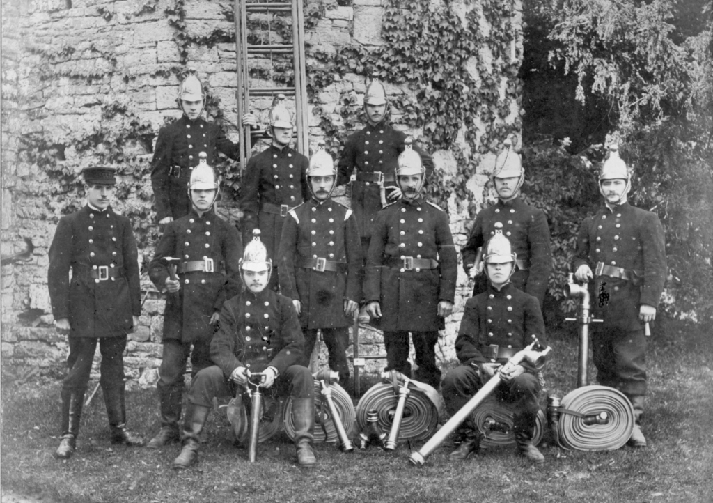 Th'by Fire Brigade C 1900