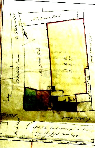 The must mill 1839 plan