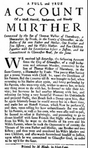 Thomas Walker newspaper