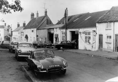 Thornbury Motors and plough
