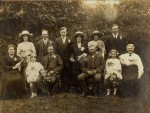 Wedding Blanche Webb to William Pearce 1920