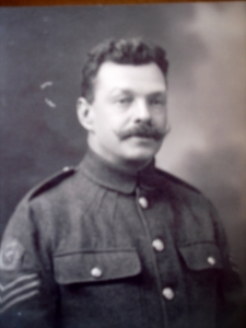William Charles Savery sergeant