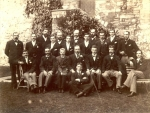 Yarnold Thornbury Gleemen Berkeley Castle Keep 1890's